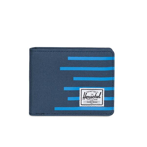 【EST】HERSCHEL ROY WALLET 短夾 皮夾 錢包 OFFSET系列 條紋 藍 [HS-0069-A42] G0706 0