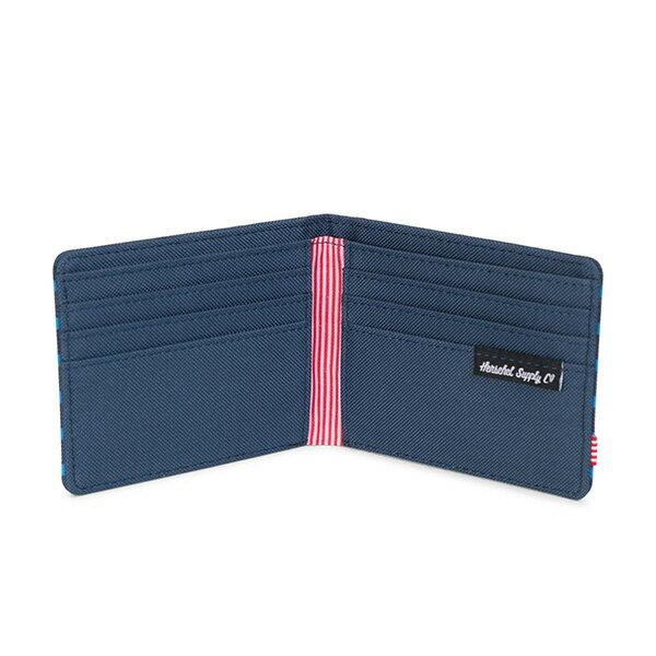 【EST】HERSCHEL ROY WALLET 短夾 皮夾 錢包 OFFSET系列 條紋 藍 [HS-0069-A42] G0706 2