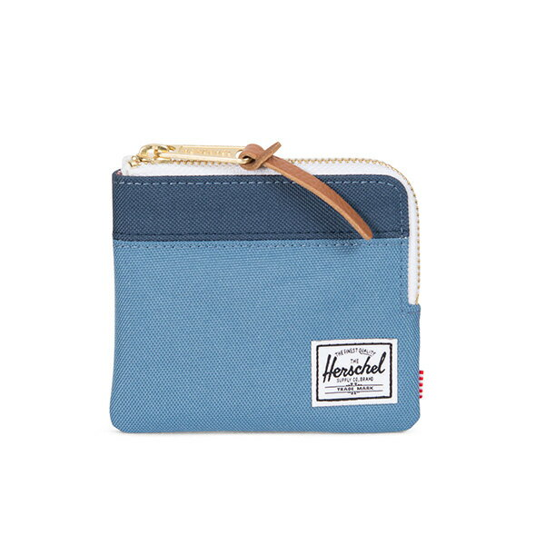 【EST】Herschel Johnny Wallet 小皮夾 零錢包 拼色 藍 [HS-0094-A58] G0414 0