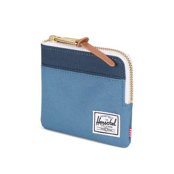 【EST】Herschel Johnny Wallet 小皮夾 零錢包 拼色 藍 [HS-0094-A58] G0414 1