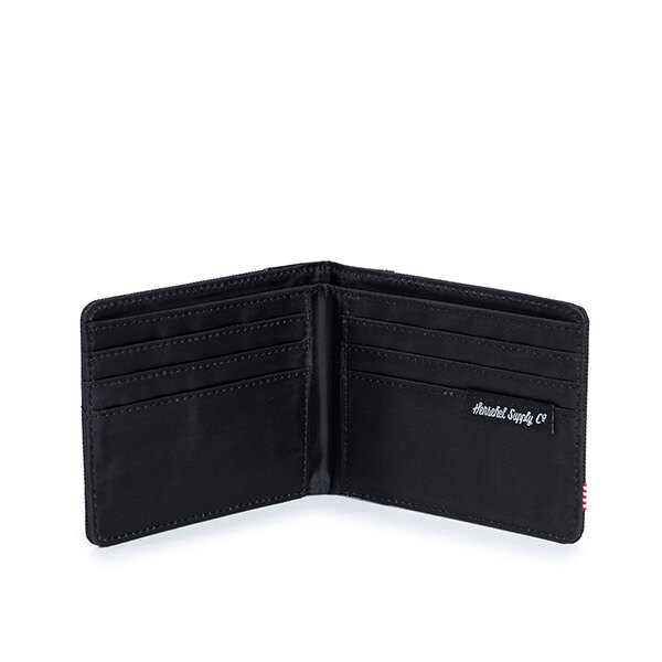 【EST】Herschel Edward Wallet 短夾 皮夾 錢包 荔枝皮 黑 [HS-0133-165] G0122 2