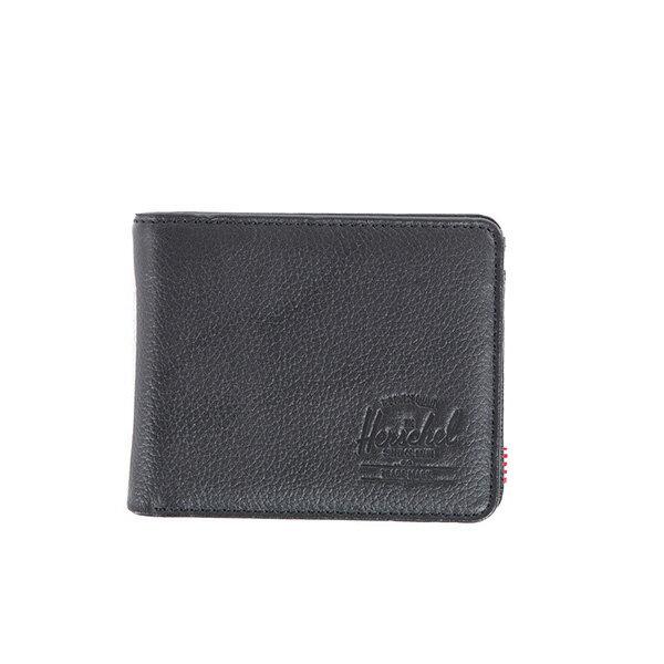 【EST】HERSCHEL HANK COIN WALLET 短夾 皮夾 零錢包 皮革 黑 [HS-0149-004] G0122 0