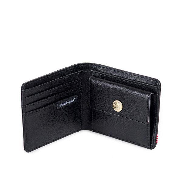 【EST】HERSCHEL HANK COIN WALLET 短夾 皮夾 零錢包 皮革 黑 [HS-0149-004] G0122 2