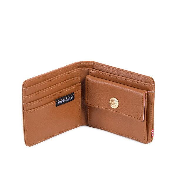 【EST】Herschel Hank Coin Wallet 短夾 皮夾 零錢包 皮革 褐 [HS-0149-034] G0122 2
