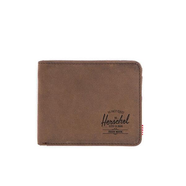 【EST】Herschel Hank Coin Wallet 短夾 皮夾 零錢包 皮革 棕 [HS-0149-037] G0122 0