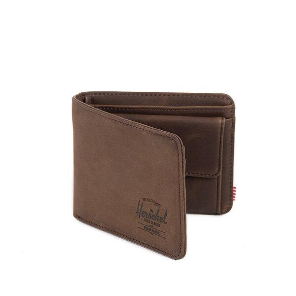 【EST】Herschel Hank Coin Wallet 短夾 皮夾 零錢包 皮革 棕 [HS-0149-037] G0122 1