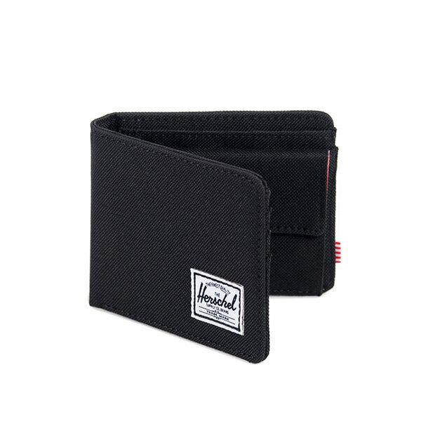 【EST】Herschel Roy Coin Wallet 短夾 皮夾 零錢包 黑 [HS-0151-001] G0414 1