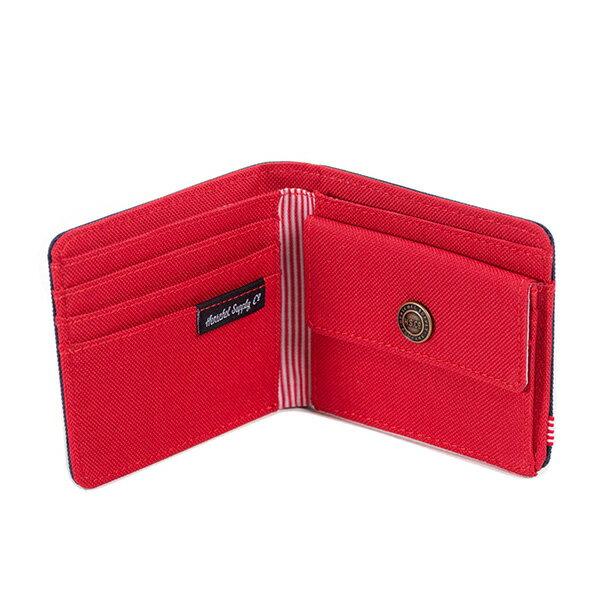 【EST】HERSCHEL ROY COIN WALLET 短夾 皮夾 零錢包 藍紅 [HS-0151-018] G0414 2