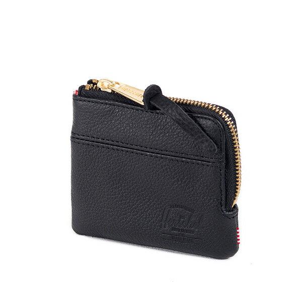 【EST】Herschel Johnny Wallet 皮革 小皮夾 零錢包 黑 [HS-0172-004] G0122 2