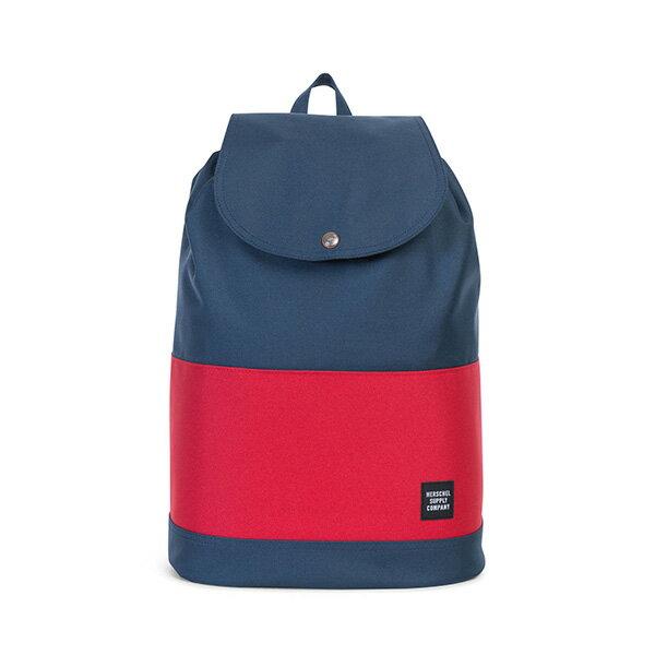 【EST】HERSCHEL REID 束口 扣式 後背包 藍紅 [HS-0182-018] G0414 0