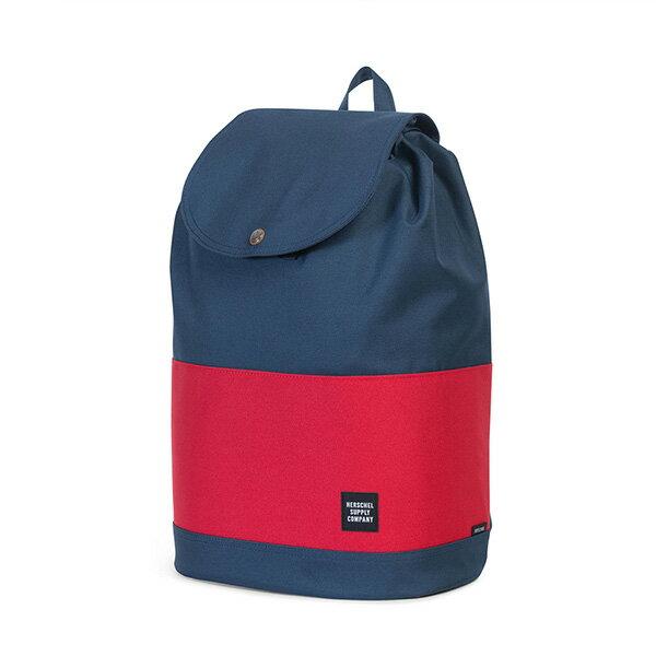 【EST】HERSCHEL REID 束口 扣式 後背包 藍紅 [HS-0182-018] G0414 2