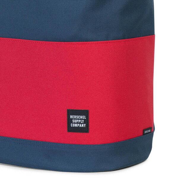 【EST】HERSCHEL REID 束口 扣式 後背包 藍紅 [HS-0182-018] G0414 4