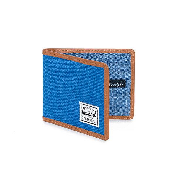 【EST】Herschel Taylor Wallet 短夾 皮夾 錢包 滾邊 藍 [HS-0198-929] G0122 1