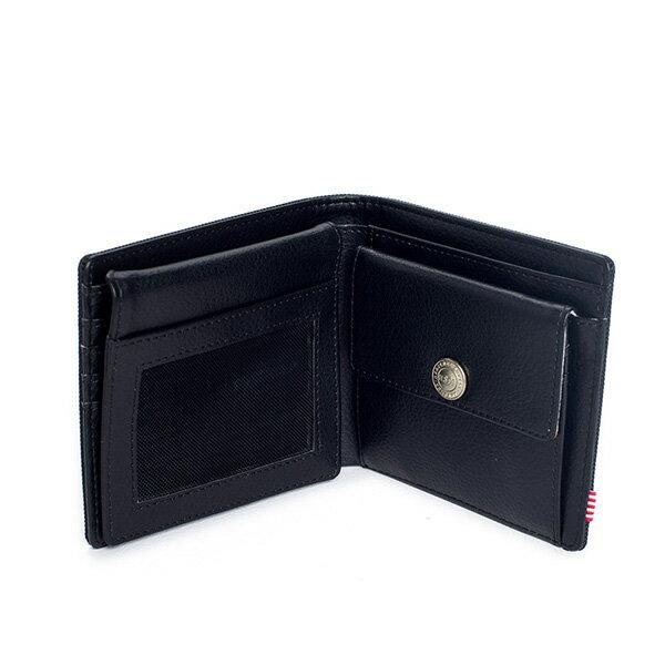 【EST】HERSCHEL HANK LARGE WALLET 短夾 皮夾 零錢包 黑 [HS-0199-001] G0122 2