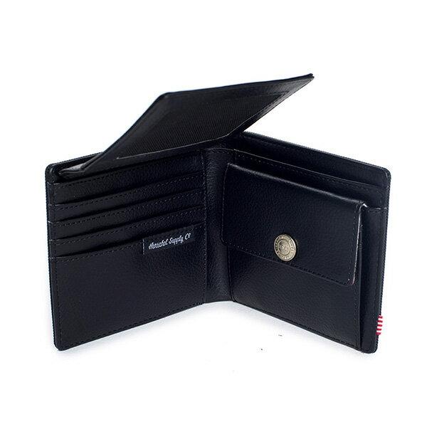 【EST】HERSCHEL HANK LARGE WALLET 短夾 皮夾 零錢包 黑 [HS-0199-001] G0122 4