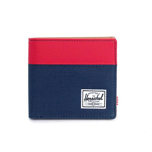 【EST】Herschel Hank Large Wallet 短夾 皮夾 零錢包 藍紅 [HS-0199-018] G0122 0