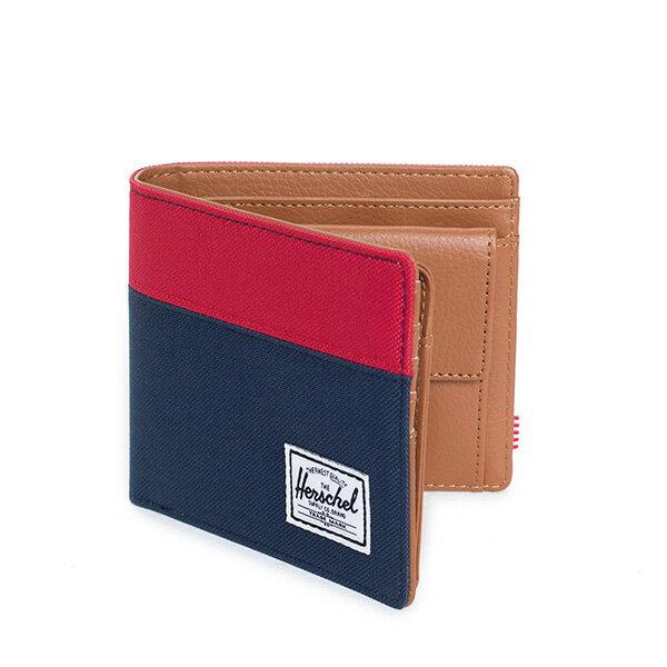 【EST】Herschel Hank Large Wallet 短夾 皮夾 零錢包 藍紅 [HS-0199-018] G0122 1