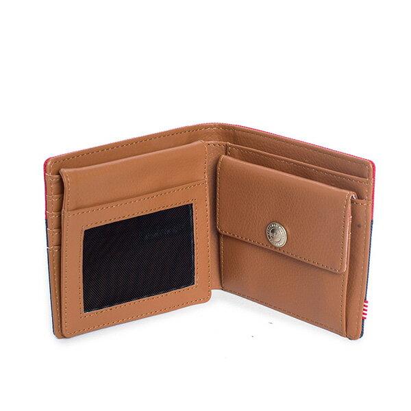【EST】Herschel Hank Large Wallet 短夾 皮夾 零錢包 藍紅 [HS-0199-018] G0122 2