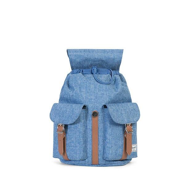 【EST】Herschel Dawson Wmns 女款 束口 雙口袋 後背包 十字布 丹寧 [HS-0210-B25] G0801 1