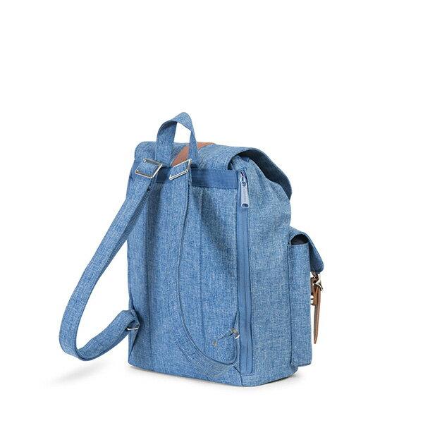 【EST】Herschel Dawson Wmns 女款 束口 雙口袋 後背包 十字布 丹寧 [HS-0210-B25] G0801 3