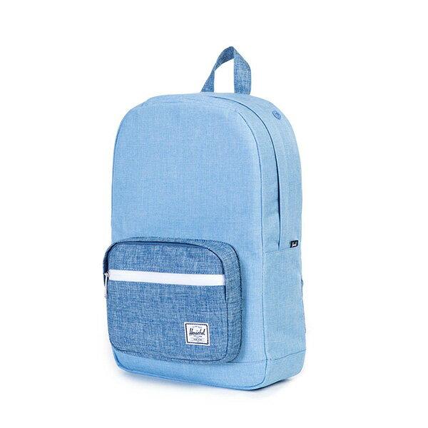 【EST】HERSCHEL POP QUIZ MID 中款 13吋電腦包 後背包 丹寧 藍 [HS-0211-927] G0122 2