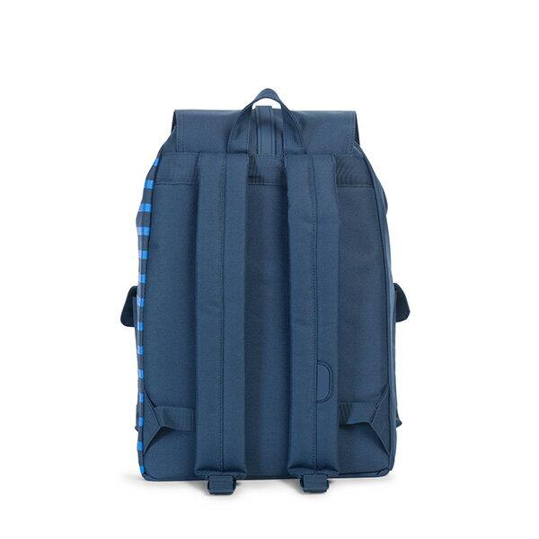 【EST】Herschel Dawson 束口 雙口袋 後背包 膠條 Offset系列 條紋 藍 [HS-0233-A42] G0414 3