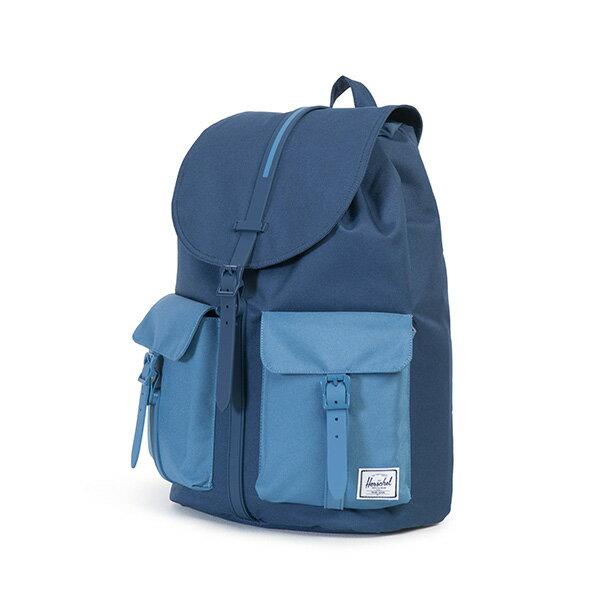 【EST】Herschel Dawson 束口 雙口袋 後背包 膠條 拼色 藍 [HS-0233-A58] G0414 2