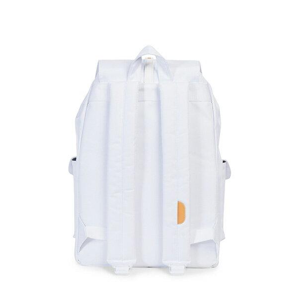 【EST】Herschel Dawson 束口 雙口袋 後背包 膠條 Studio系列 白 [HS-0233-A95] G0414 3