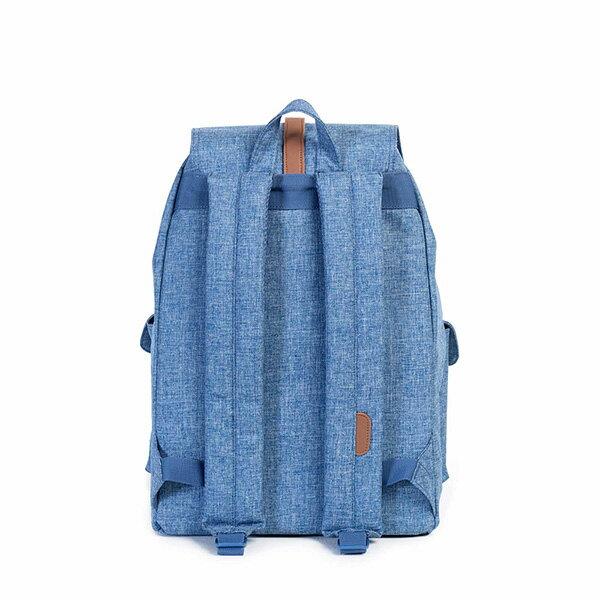 【EST】HERSCHEL DAWSON 束口 雙口袋 後背包 丹寧 藍 [HS-0233-918] G0122 2