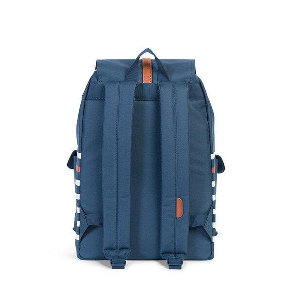 【EST】Herschel Dawson 束口 雙口袋 後背包 條紋 藍 [HS-0233-B71] G0801 3