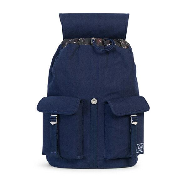 【EST】Herschel Dawson 束口 雙口袋 後背包 單寧藍 [HS-0233-C40] G1012 1