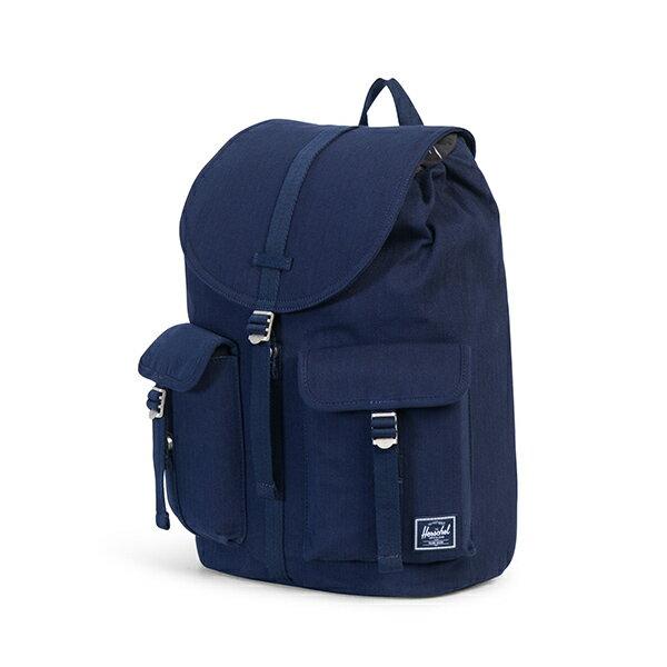 【EST】Herschel Dawson 束口 雙口袋 後背包 單寧藍 [HS-0233-C40] G1012 2