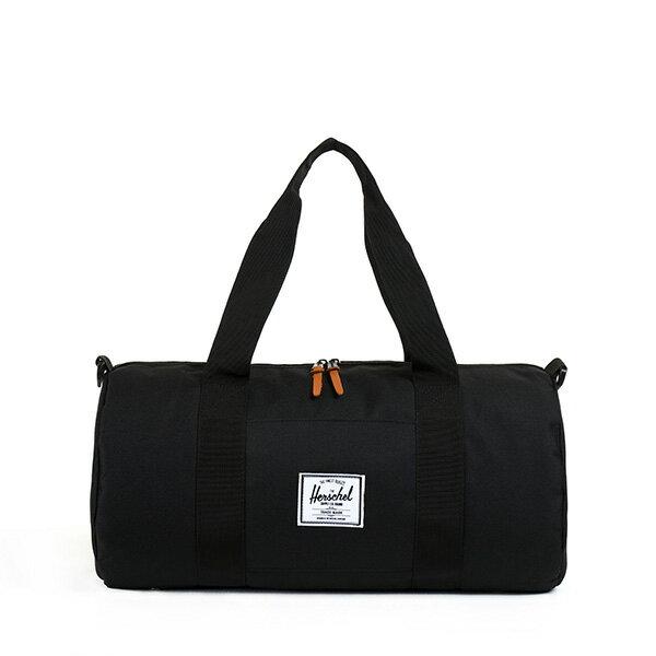 【EST】Herschel Sutton Mid 中款 圓筒 肩背 手提袋 旅行袋 黑 [HS-0251-001] G0122 0