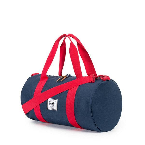 【EST】HERSCHEL SUTTON MID 中款 圓筒 肩背 手提袋 旅行包 藍紅 [HS-0251-018] G0122 1