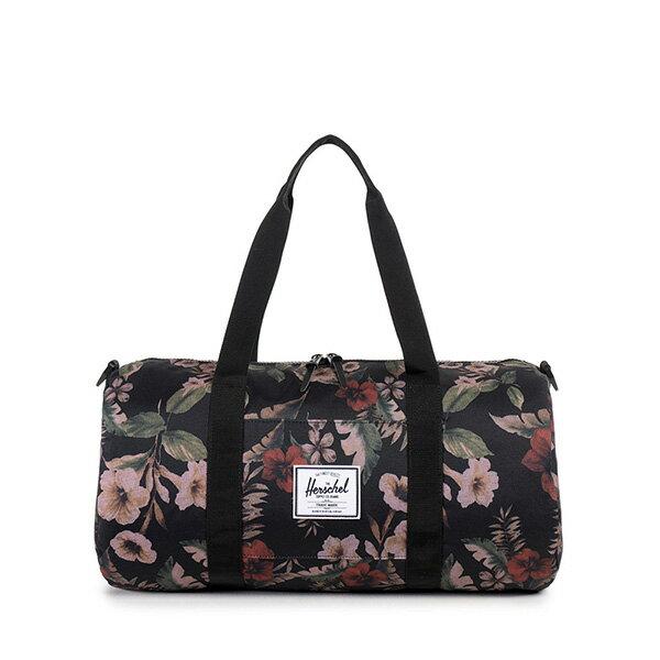 【EST】HERSCHEL SUTTON MID 中款 圓筒 肩背 手提袋 旅行包 花卉 [HS-0251-910] G0122 0
