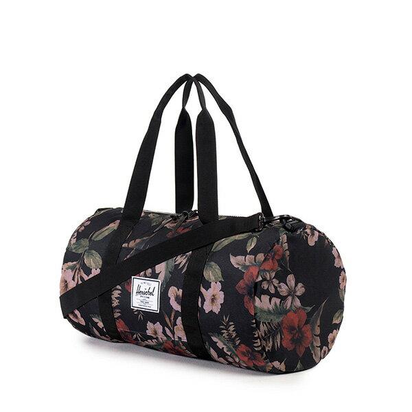 【EST】HERSCHEL SUTTON MID 中款 圓筒 肩背 手提袋 旅行包 花卉 [HS-0251-910] G0122 1