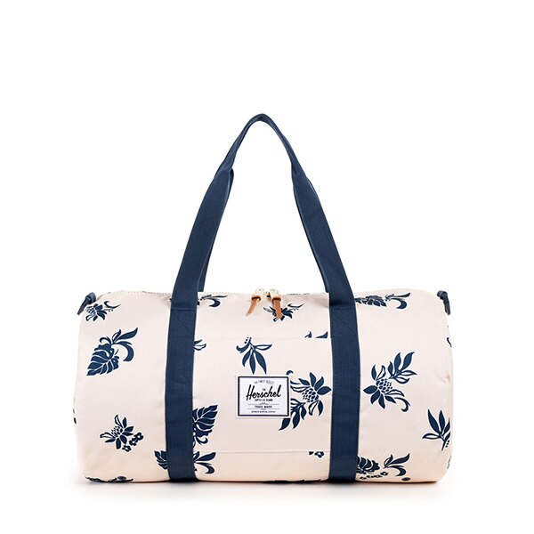【EST】Herschel Sutton Mid 中款 圓筒 肩背 手提袋 旅行袋 花卉 米色 [HS-0251-917] G0122 0