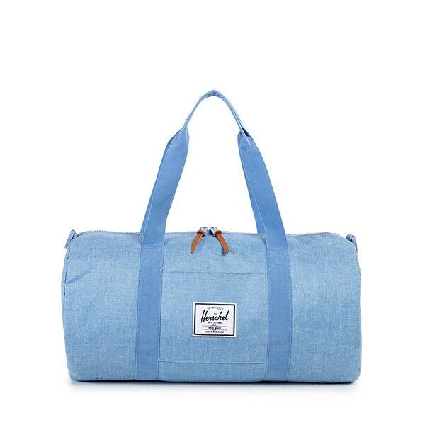 【EST】HERSCHEL SUTTON MID 中款 圓筒 肩背 手提袋 旅行包 水藍 [HS-0251-931] G0122 0