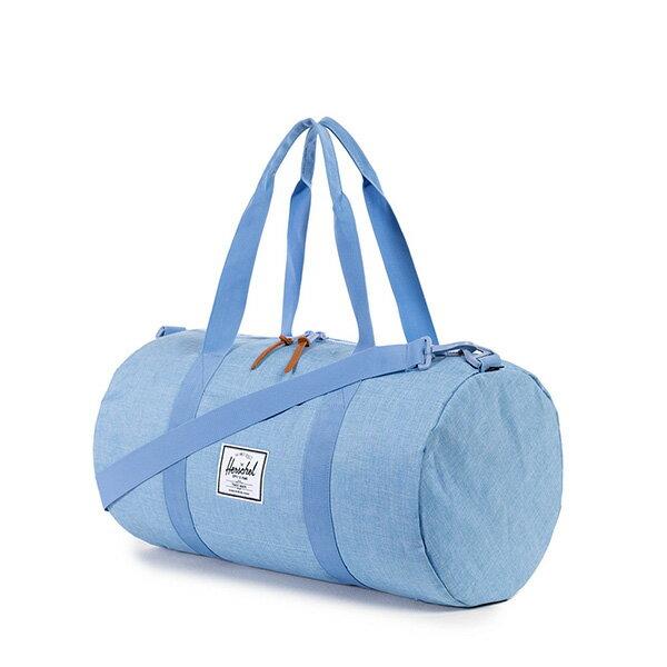 【EST】HERSCHEL SUTTON MID 中款 圓筒 肩背 手提袋 旅行包 水藍 [HS-0251-931] G0122 1