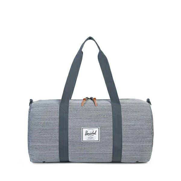 【EST】Herschel Sutton Mid 中款 圓筒 肩背 手提袋 旅行袋 大理石灰 [HS-0251-C61] G1012