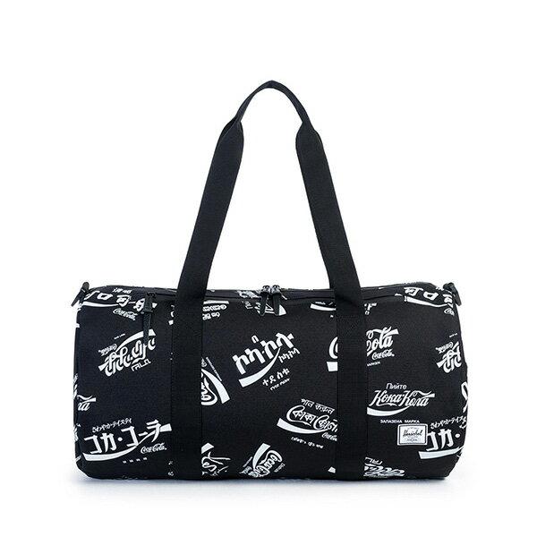 【EST】HERSCHEL SPARWOOD 圓筒 肩背 手提袋 旅行包 可口可樂 黑 [HS-0254-990] G0122 0