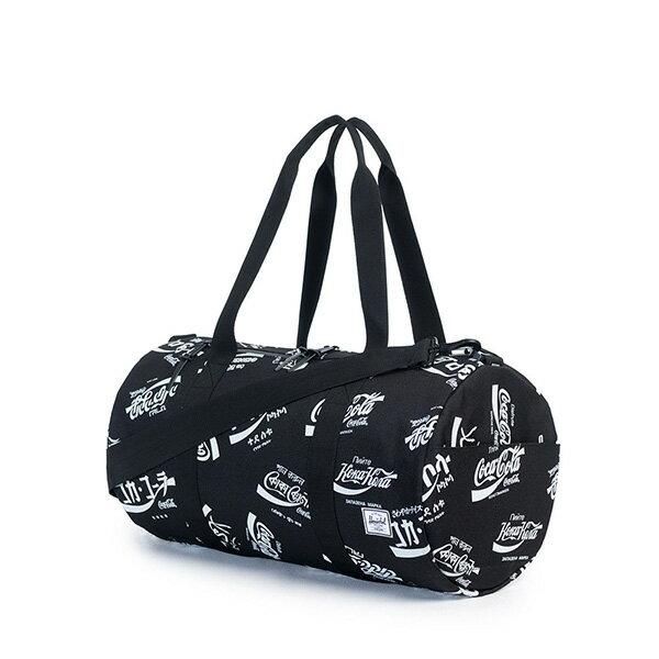 【EST】HERSCHEL SPARWOOD 圓筒 肩背 手提袋 旅行包 可口可樂 黑 [HS-0254-990] G0122 1