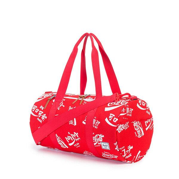 【EST】Herschel Sparwood 圓筒 肩背 手提袋 旅行袋 可口可樂 紅 [HS-0254-991] G0122 1
