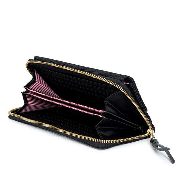 【EST】Herschel Avenue Wallet 拉鍊 皮夾 長夾 錢包 黑 [HS-0259-001] G1012 2