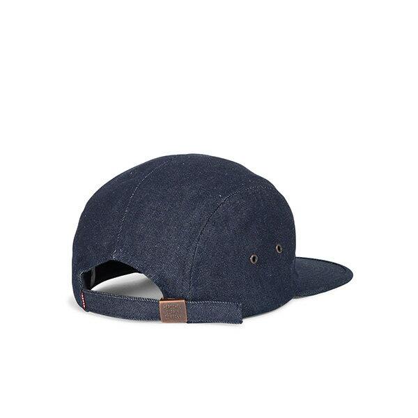 【EST】HERSCHEL GLENDALE 經典款 硬版 後調式 五分割帽 棒球帽 丹寧 深藍 [HS-1007-211] G0815 1