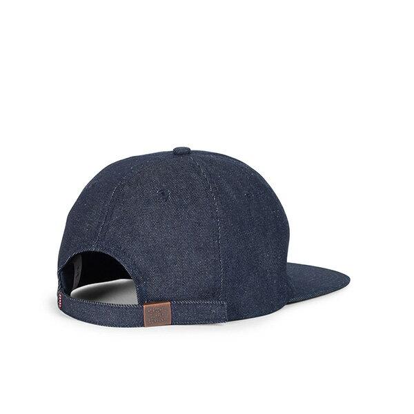 【EST】HERSCHEL ALBERT 後調式 棒球帽 丹寧 深藍 [HS-1020-172] G0422 1