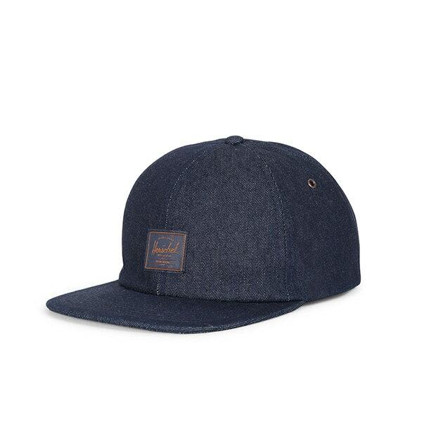 【EST】Herschel Albert 後調式 棒球帽 丹寧 深藍 [HS-1020-211] G0815 0