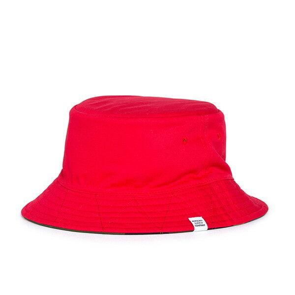 【EST】Herschel Lake 雙面 漁夫帽 迷彩 紅 [HS-1025-109] G0706 1