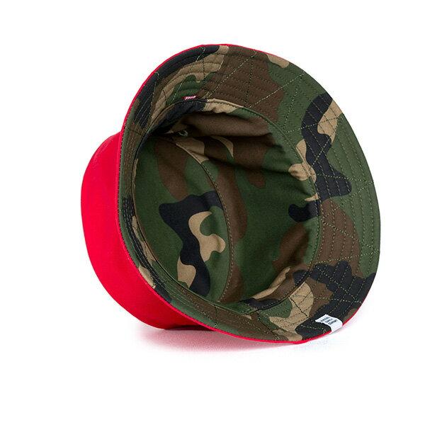 【EST】Herschel Lake 雙面 漁夫帽 迷彩 紅 [HS-1025-109] G0706 2
