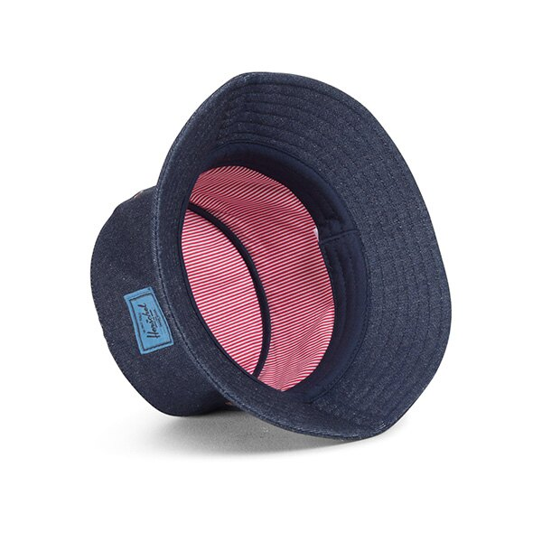【EST】Herschel Lake 藍標 漁夫帽 丹寧 深藍 [HS-1025-172] G0422 1